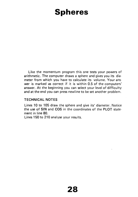 30 Programs For The ZX81 - Page 28