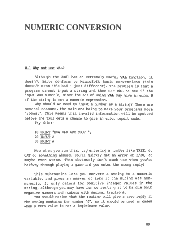 The ZX81 Pocket Book - Page 89